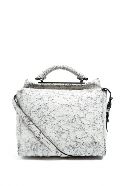 3.1 Phillip Lim Black White Small Ryder Satchel By 3.1 Phillip Lim
