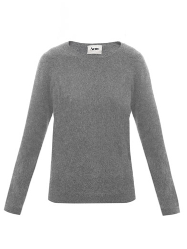 Rakel angora sweater Acne Matchesfashion com