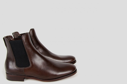 A.P.C. Boots A Elastique Anthracite Chaussures Chaussures