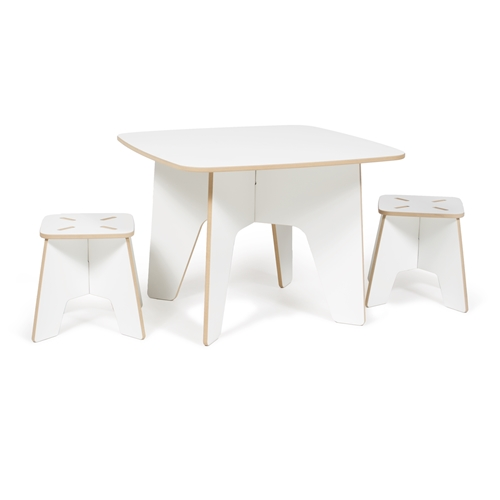 Sprout Kids Table And Two Stools Tables Desks Kids Furniture Kids Baby