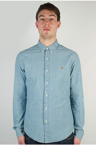 Ralph Lauren Medium Wash Chambray Shirt