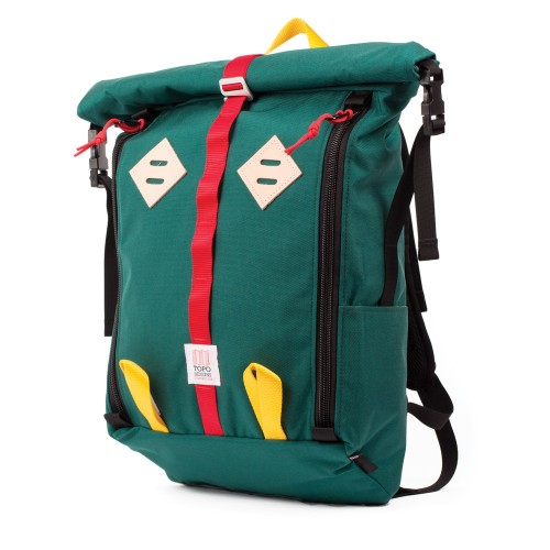 Topo Designs Roll Top Teal Undscvrd