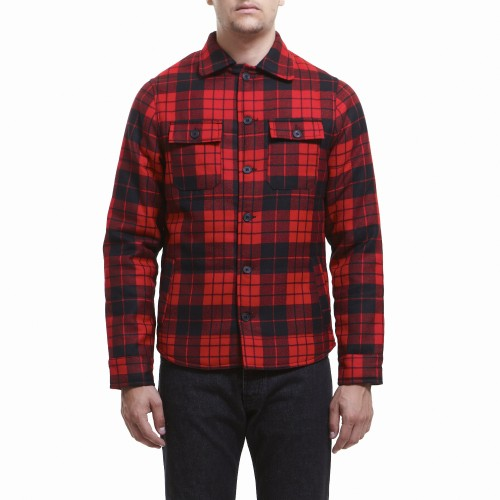 E Shop Coats Jacket Brokeback Red Plaid Balibaris
