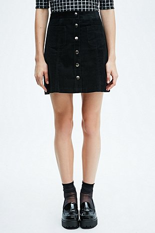 Cooperative A Line Cord Skirt Urban Outfitters