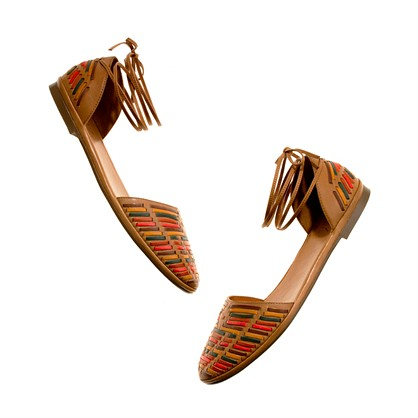 The Colorstitch Flat shoes sandals Women s NEW ARRIVALS Madewell
