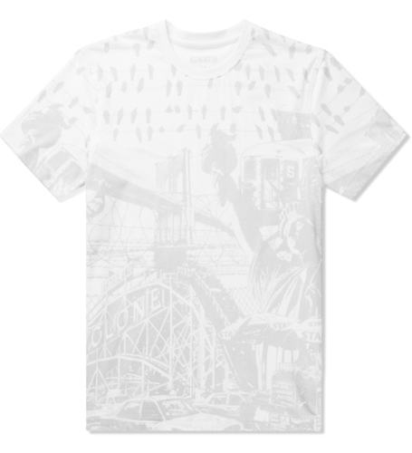 Staple White Coming Attraction T Shirt Hypebeast Store