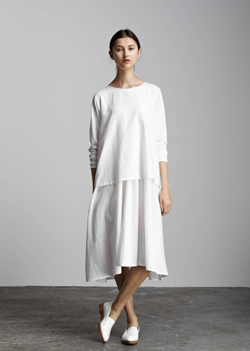 Kowtow 100 Certified Fair Trade Organic Cotton Clothing In The Shadows Dress
