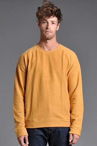 Velour Don Jumper Yellow someplace