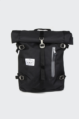 Good As Gold Online Clothing Store Mens Womens Fashion Streetwear Nz Roll Top Backpack Black