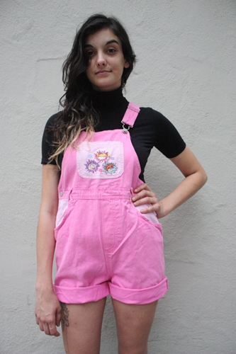 Rare Pink Rugrats Overalls 90'S Vintage By Peachstreetvintage