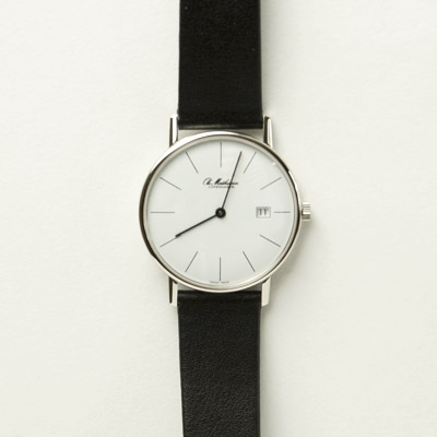 Canoe Ole Mathieson Watch White