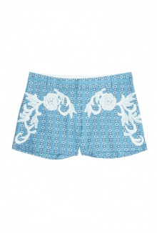 Jeunot Pattern Shorts By Paul Joe Sister