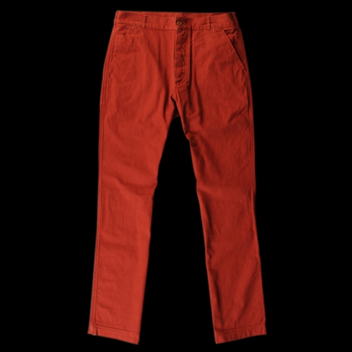 UNIONMADE MHL Margaret Howell Ticket Pocket Trouser in Brick