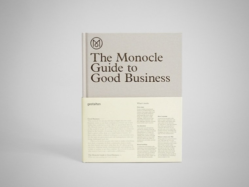 The Monocle Guide To Good Business Monocle Shop Books Music