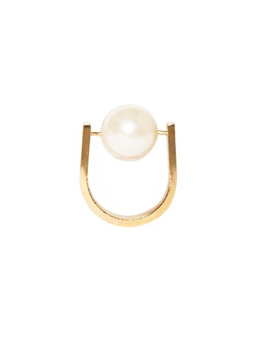 Statement Pearl Ring Gold Pearl Ring Street Style Rings 12