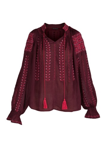 Embroidered Blouse Clothing
