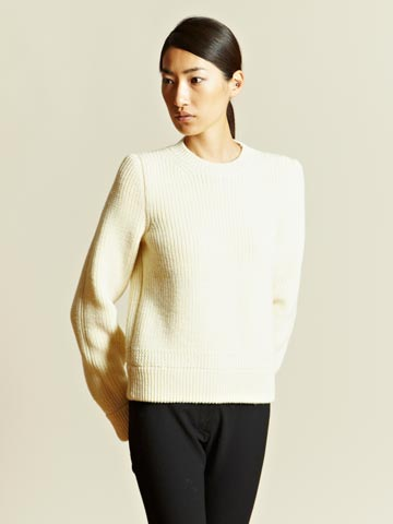 Maison Martin Margiela Defile Women's Heavy Knit Sweater Ln Cc