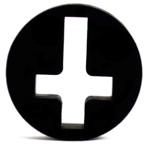 UK Custom Plugs Silicone Cross Plug