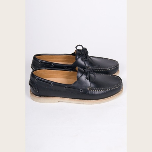 A.P.C. Leather Boat Shoe Ideology Boutique
