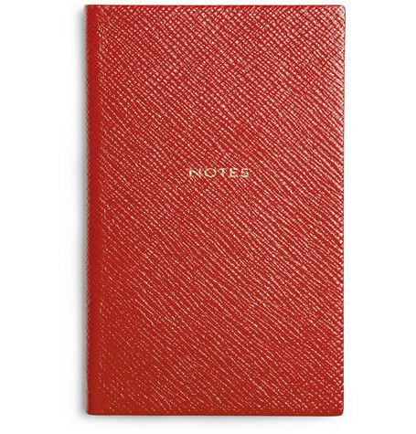 Smythson Small Leather Notebook MR PORTER
