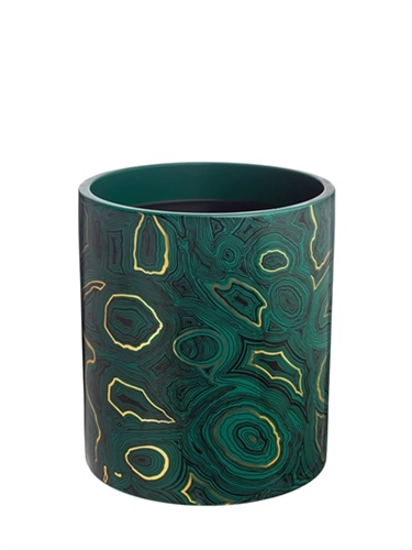 Fornasetti New Malachite Candle Luisaviaroma Luxury Shopping Worldwide Shipping Florence