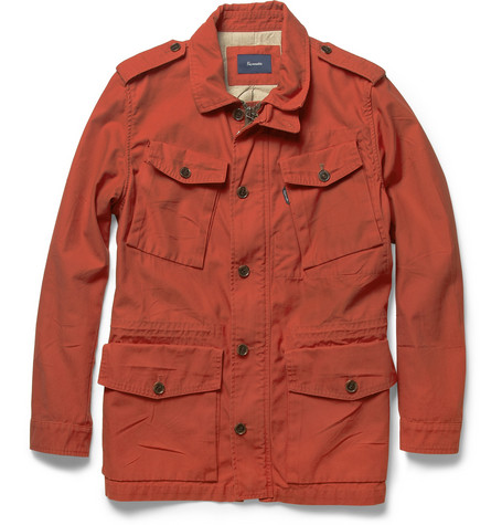 Faconnable Cotton Twill Field Jacket MR PORTER