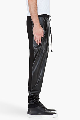 Denis Gagnon Black Front Pocket Lounge Pants for men SSENSE