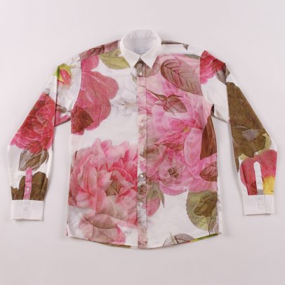 Soulland Rasmussen Rose Printed Shirt Multi colour