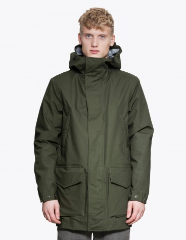 Aspesi Banchisa Jacket Dark Green Tres Bien