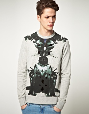 Elvis Jesus Elvis Jesus Shrine Sweat Shirt at ASOS