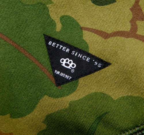 10Deep Tops Oak Camo Crewneck