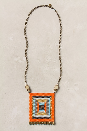 Banderole Beads Necklace Anthropologie com