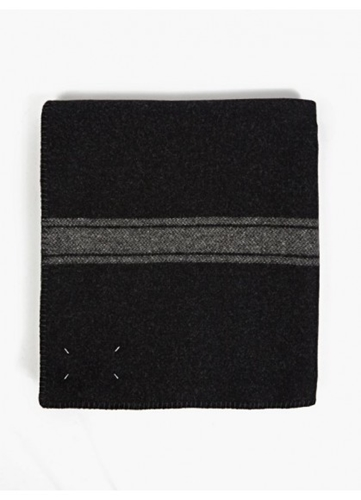 Maison Martin Margiela Grey Virgin Wool Blanket Oki Ni