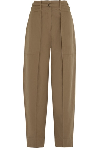 Christophe Lemaire Cotton Tapered Pants Net A Porter.Com
