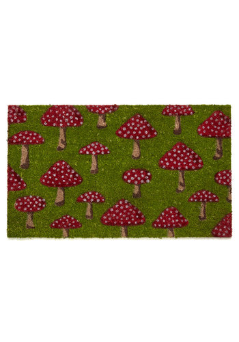 Fungi Fresh Doormat Mod Retro Vintage Decor Accessories Modcloth.Com