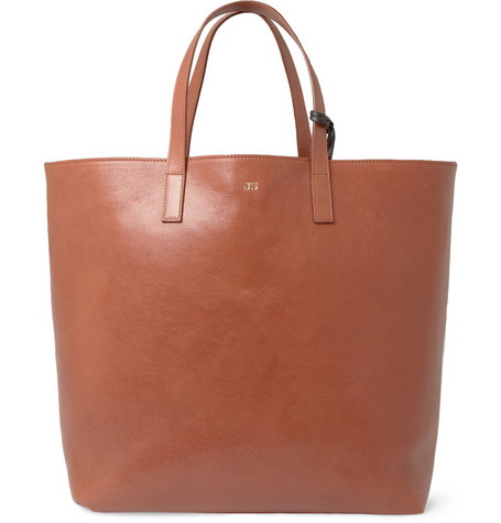 Jil Sander Reversible Leather Tote Bag MR PORTER