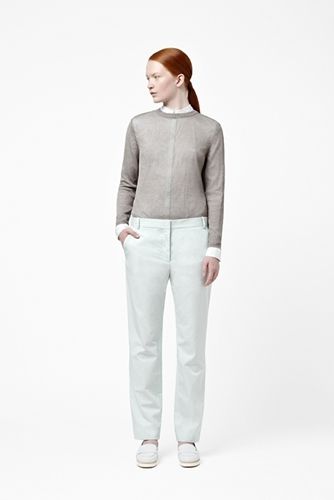 Linen knit jumper