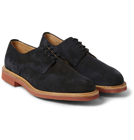Mark Mcnairy Contrast Sole Suede Derby Shoes Mr Porter