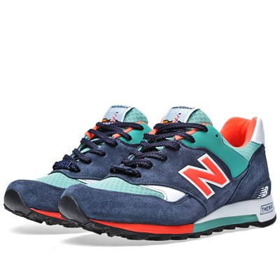 New Balance M577nbs 'Seaside Pack' Made In England Navy Green Orange