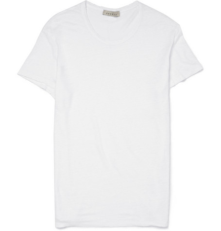 Sandro Tiruana Linen T shirt MR PORTER