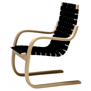 Aalto 406 Armchair Black Linen Artek 406 Lounge Sofas Furniture Finnish Design Shop