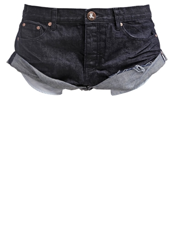 One Teaspoon Shorts Raw One Teaspoon Raw Bandits Denim
