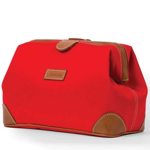 Travelteq Travel Wash Bag Red Undscvrd