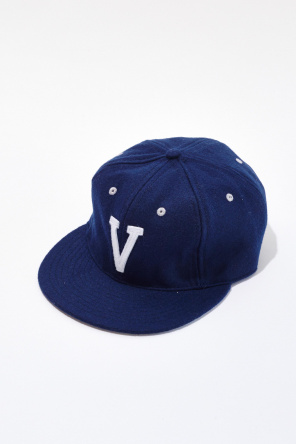 Shop For At Vanishing Elephant Ebbets Field Cap In Navy W White V