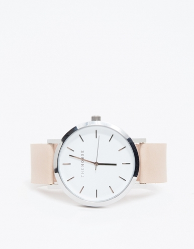 Silver Natural Band Watch