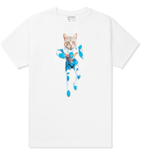 Odd Future White Mellowhype Ultra Cat T Shirt Hypebeast Store. Shop Online For Men's Fashion Streetwear Sneakers Accessories
