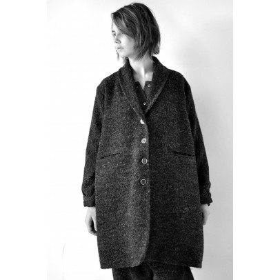 Coat Vagrant Curly Woolblend