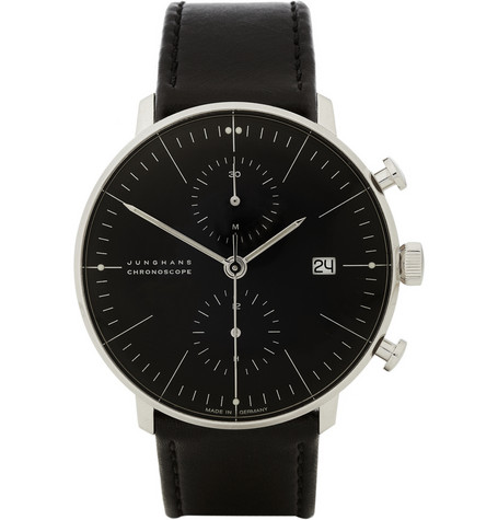 Max Bill by Junghans Stainless Steel Automatic Chronograph Watch MR PORTER