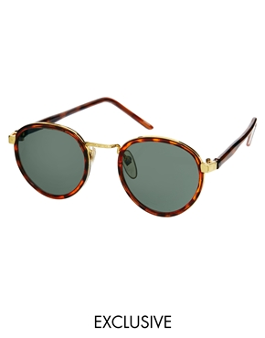 Reclaimed Vintage Reclaimed Vintage Round Sunglasses At Asos