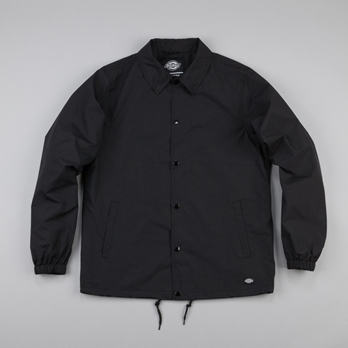 Dickies Torrance Jacket Black At Flatspot